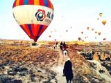 Nevşehir Avanos'ta At çiftliği ve Otel