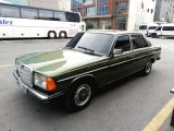 mercedes-benz 1984 model w123 kasa 200D sunrooflu