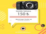 Kiralık Blackmagic Pocket 4K