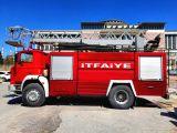 İtfaiye ve araröz kamyonları