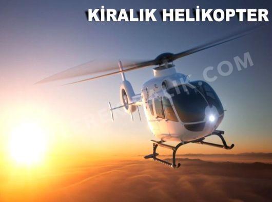 Tüm Limanlarda Helikopter Kiralama