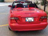 Clk200 kırmızı cabrio