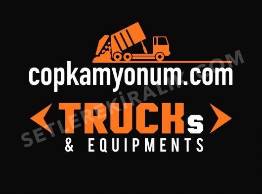 İtfaiye, çöp kamyonu, süpürgeler, damperli araçlar