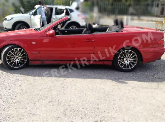 Clk 200 cabrio dizilere