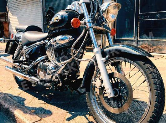 Setlere kiralık chopper motosiklet