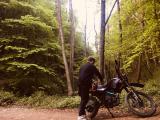 Setlere Kiralık Siyah Renk Cross Motosiklet